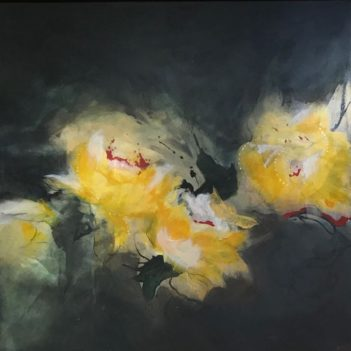 'Lustre', mixed media by Lisa Taylor-King