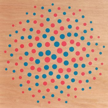 Fibonacci in Blue and Red