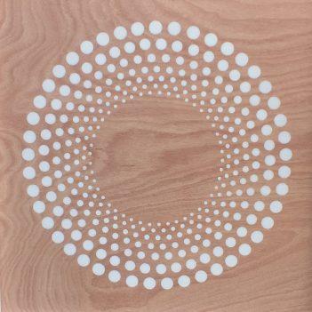Circle Series in White