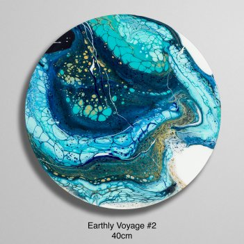 Earthly Voyage #2 (40cm)