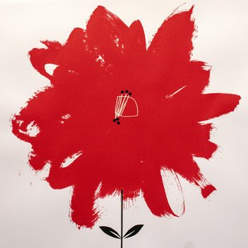 Jolly red flower