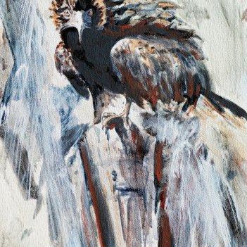 32. Kite on Treestump