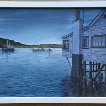 Reflections at Mangonui Harbour