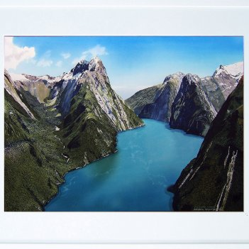 above Milford Sound