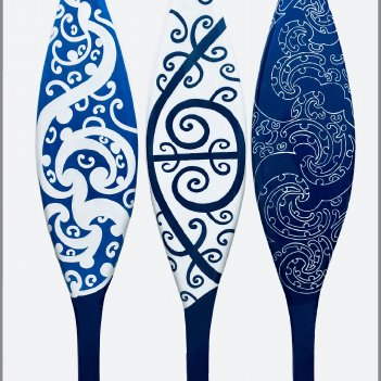 Aumoana Paddle Set of 3.