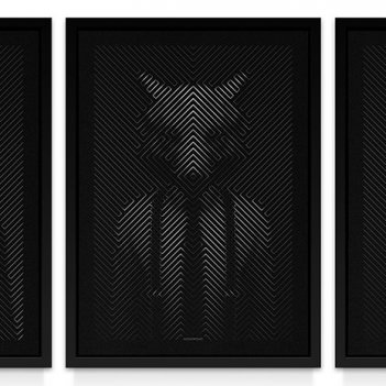 Wolf of Wasll St / Triptych