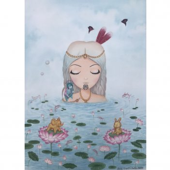 Lily, Snowflake & Dinkie (Limited Edition Print)