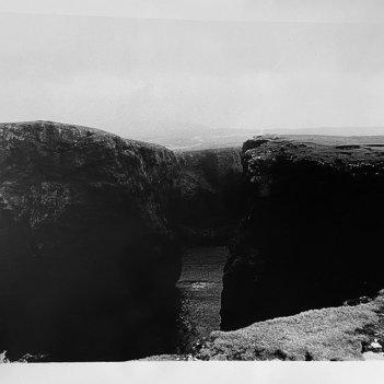 At The Edge (Shetland Cliffs, Scotland)