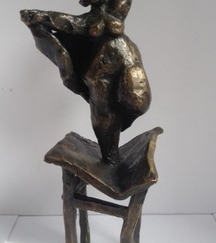 mother dances on tables