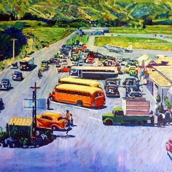 Paraparaumu Airport 1950s