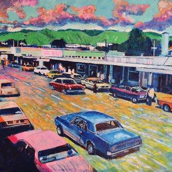 Paraparaumu Shops 1970