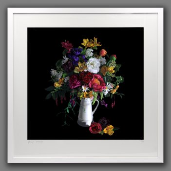 Flemish Bouquet - framed print