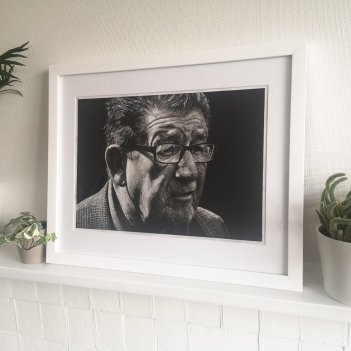 Portrait of a Man Framed