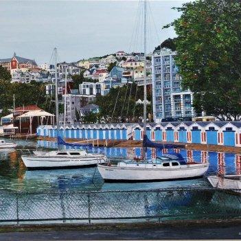 Yachts at Port Nicholson