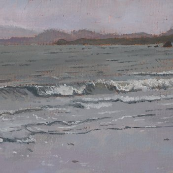 Stormy afternoon at Worser Bay