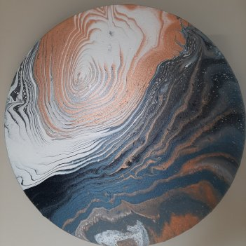 "Winter Runoff Series ""Bronze Tide"" (50cm)"