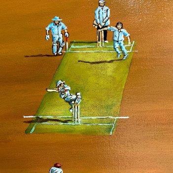 Saturdays Gladiators in a New Zealand Landscape-detail