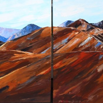 Lindis Pass Diptych