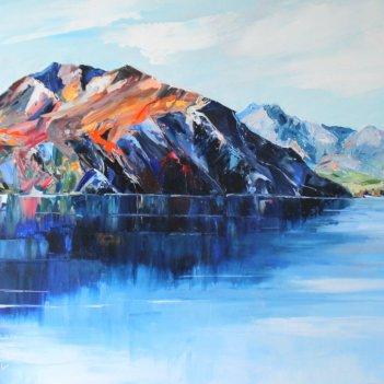 Lake Wanaka  Reflection series