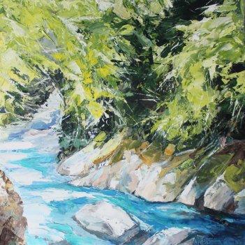 Blue River the pools Makarora
